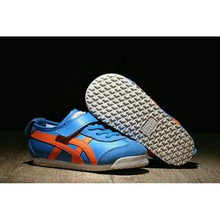 Authentic Onitsuka   (Blue/ Orange) for Toddler