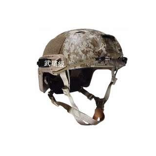台南 武星級 FAST BJ頭盔 (生存遊戲 cosplay 角色扮演 鎮暴 警察軍人 士兵 鋼盔 頭盔 防彈 安全帽