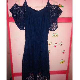 Dress ( blue )