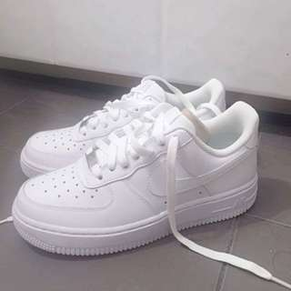 Nike white Air Force 1