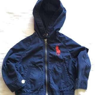 Ralph Lauren - Boys Summer Zip up Hooded Jacket - 18 months