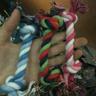 Pet rope toy small