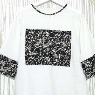 Top White Batik