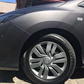 Honda city rim and rubber set