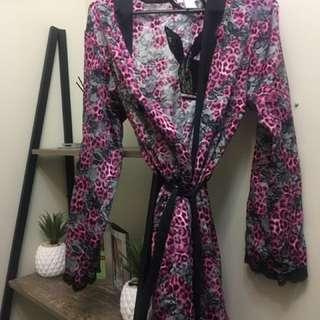 Playboy satin gown