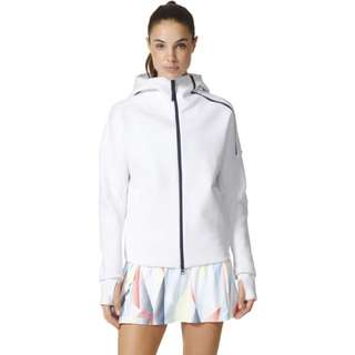 XMAS SP!ADIDAS WOMENS WHITE ZNE JACKET