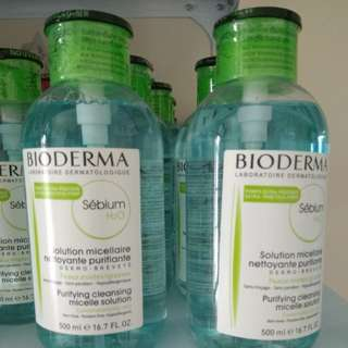 Bioderma Micellar Water make up remover Normal skin