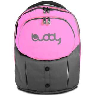 BN Award Winning Red Dot Design Mighty Pack Ergonomic Buddy School Bag In Fairy Pink