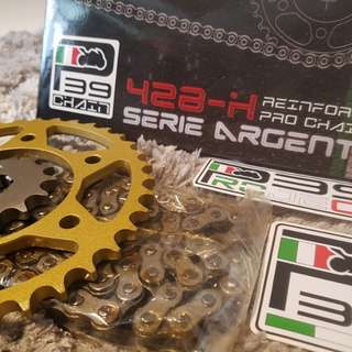 P39 Chain + Sprocket (without installation)