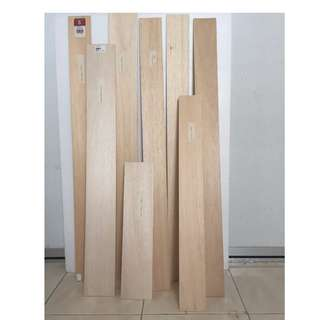 Balsa Wood Sheets/ Sticks (Different thickness available)
