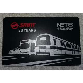 Limited Edition SMRT 30th Anniversary Nets Flash Pay Card