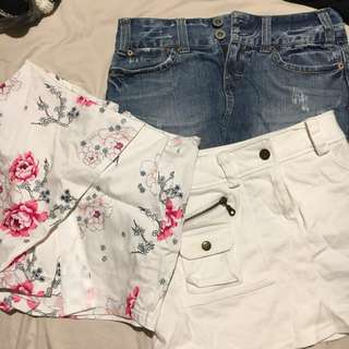 6x cute skirts (bulk)
