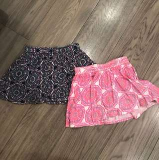 Old Navy skirts for kids small (Age 6-7) 2 pieces