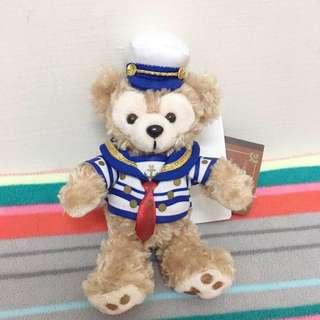 🚚 東京海洋迪士尼 水手造型達菲熊吊飾