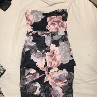 Flower body dress