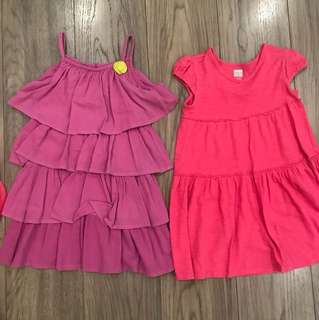 Take all 3 dresses for girls age 4-5 (old navy etc)