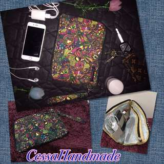 Dompet hp dan charger