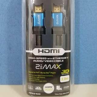 100% 全新優質 HDMI 線 (長度2米)