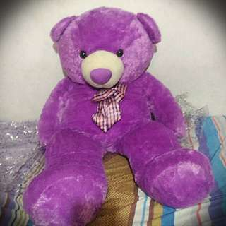 Human-sized Teddy Bear (4.5ft - Purple)