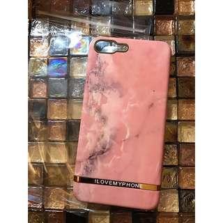 iphone 7 iphone 8 plus i love my phone design fashion pink marble case joyce lane crawford chloe celine ted baker 128gb 256gb 超靚硬身高貴粉色雲石電話保護殼 手機套