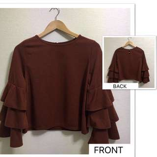 Flare Blouse from Japan