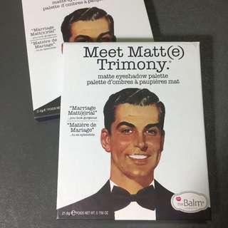 The Balm - Meet Matt(e) Trimony Eyeshadow Palette