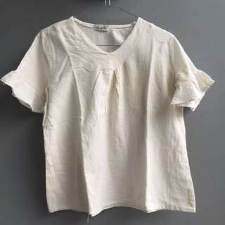 mayoutfit white top