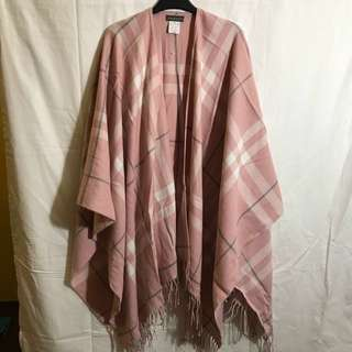 New Pink Burberry style shawl