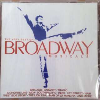 The Very Best Of Broadway Musicals ( CD )