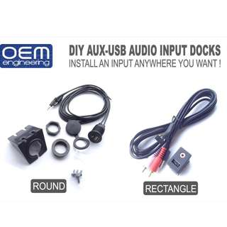 OEM Engineering DIY AUX-USB AUDIO INPUT DOCKS