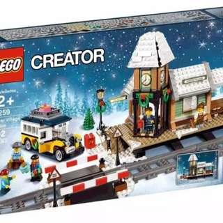 Lego winter village station 10259