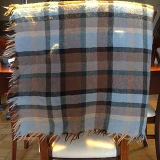 Wool Wilfred Blanket Scarf