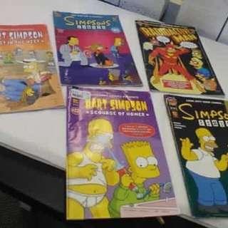 The Simpson comics