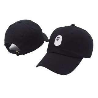 a12b316d451 Bape A Bathing Ape Aape Fashion Unisex Adjustable Baseball Cap  Black    White