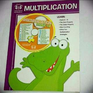 BN Music CD & Multiplication Workbook