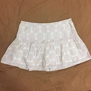 AMERICAN EAGLE OUTFITTERS Pastel Pink Polkadot Skirt