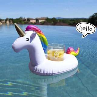 Unicorn Floats Cup Holder