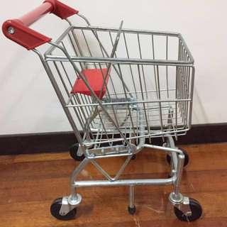 Melissa & Doug Trolley Grocery cart Hypermarket Supermarket silver red