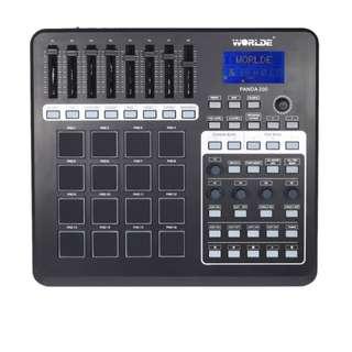 PANDA200 Portable USB MIDI Pad Controller 16 Drum Pads