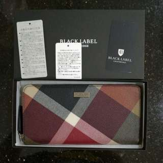 Authentic Burberry Black Label Men Wallet