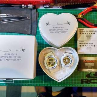 G-shock couple set lover's collection 2016 rare collector's item