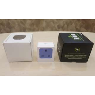 WiFi Remote Control Smart Socket (SG Plug) Android Apple Remote Control (SG Warranty)