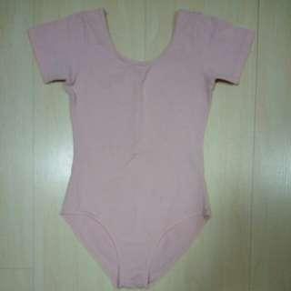Pink Ballet Leotard (Short Sleeve)