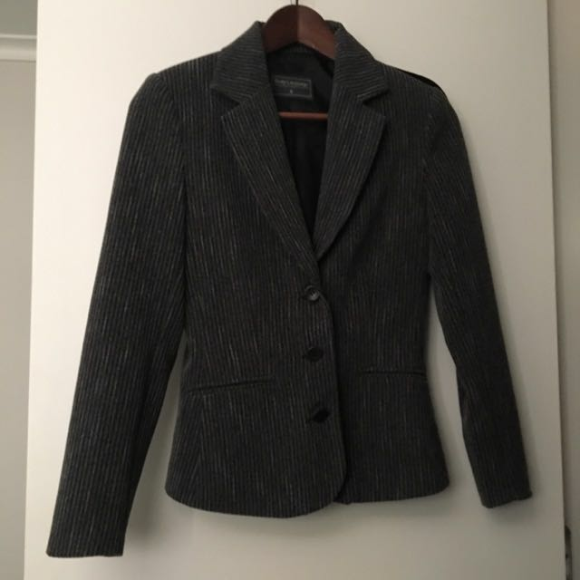 3 Price Grey Suit (jacket, Pants And Skirt)