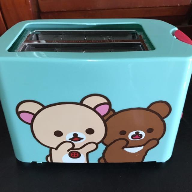 7-11拉拉熊烤麵包機 烤吐司機