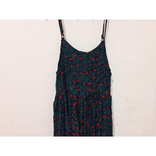 韓國購入長洋裝