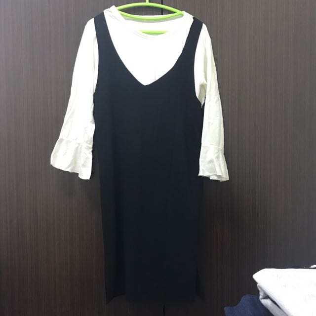 假兩件洋裝