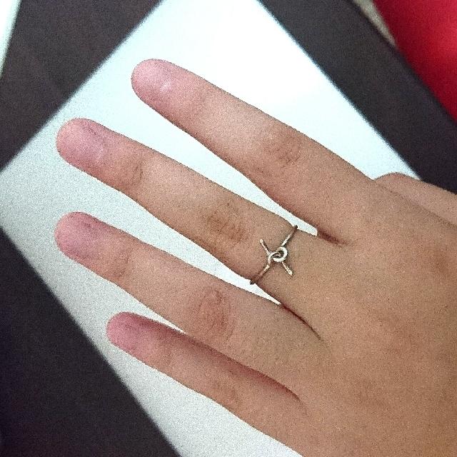 簡約銀色戒指#銅板好物