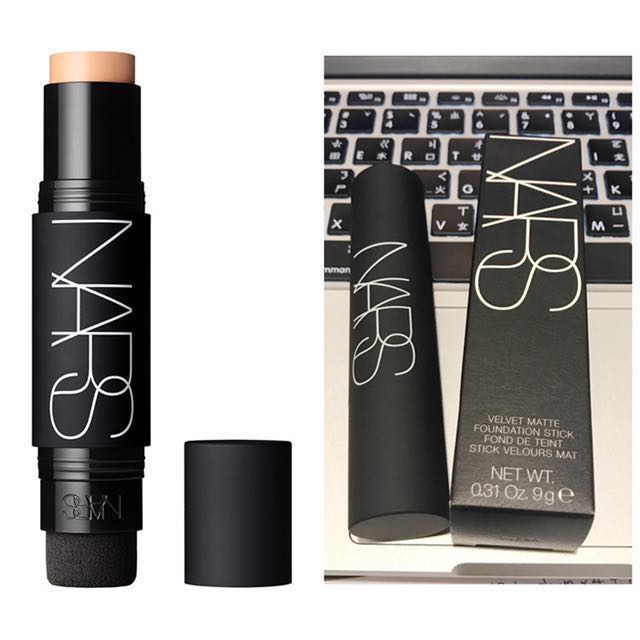 預購🙌🏻 Nars 裸光奇肌 粉棒 Velvet Matte foundation stick 粉底膏 遮瑕 粉底