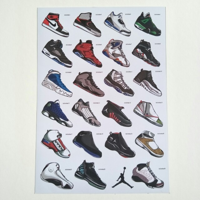 low priced 4ff6a 9d536 Air Jordan Stickers, Design   Craft, Others on Carousell